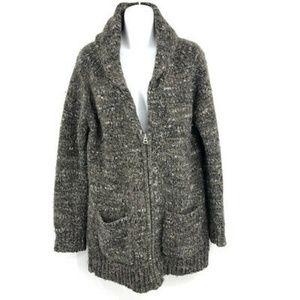 Aritzia Wilfred Free Orme Cardigan Sweater S Wool